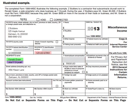 irs 1099 misc template irs 1099 misc template printable irs 941 form