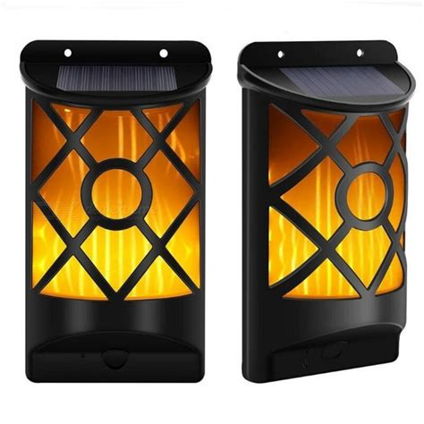 top solar powered landscape lights p top solar powered decorative l light torch for