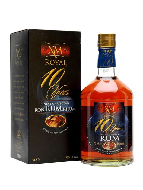 royal rum xm royal 10 year rum the whisky exchange