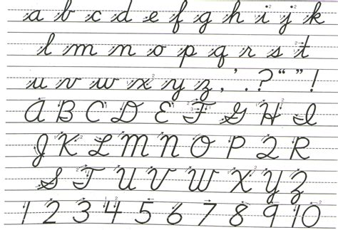 search results for how to write cursive letters