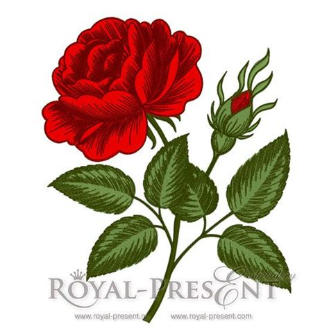 embroidery design rose flower machine embroidery designs vintage rose flower engraving