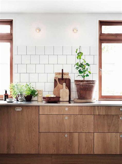 cuisine am駭ag馥 bois cuisine bois moderne id 233 es pour un int 233 rieur chaleureux