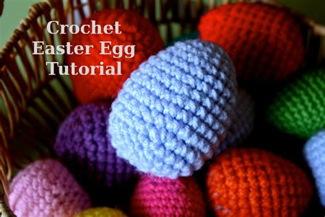 yarn egg pattern the pink woobie crochet easter egg tutorial