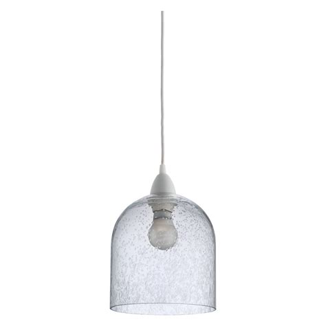 Glass Ceiling Light Liv Clear Glass Ceiling Light Shade Buy Now At Habitat Uk