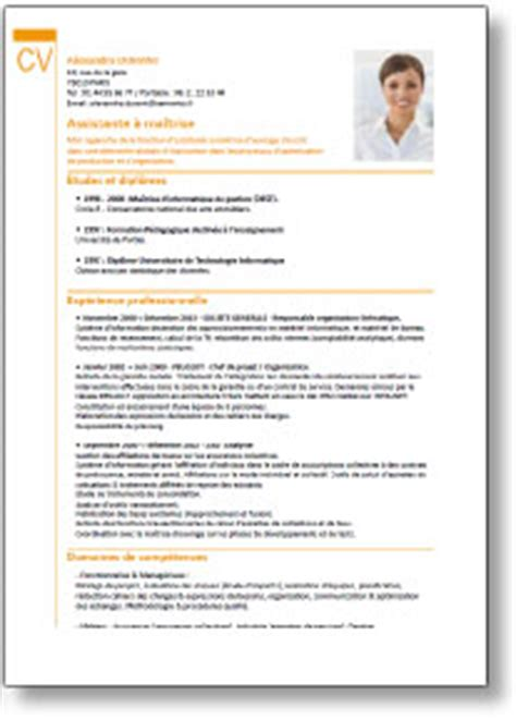 Modèle Cv Mise En Page by Resume Format Logiciel Mise En Forme De Cv