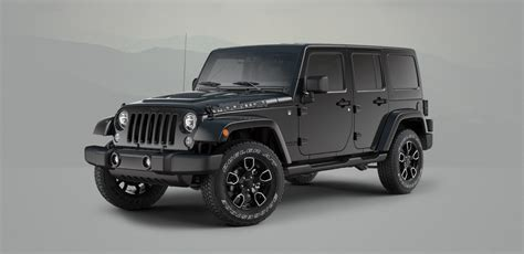 jeep smoky mountain white jeep wrangler chief και smoky mountain editions autoblog gr