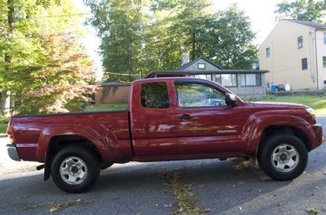 2005 Toyota Tacoma Extended Cab For Sale Purchase Used 2005 Toyota Tacoma Ext Cab Sr5 4x4 5