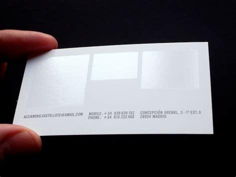 spot uv business card template alejandro castellote business card design inspiration