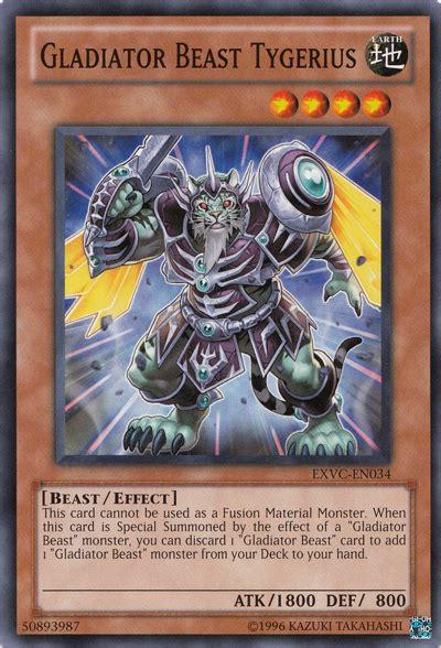 Kartu Yugioh Gladiator Beast Andal gladiator beast tygerius yu gi oh it s time to duel