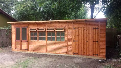 Summer House And Shed Combination by Bakers Timber Buildings Garden Rooms Offices Classic