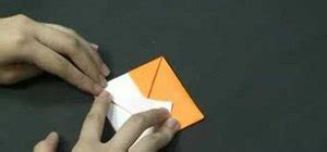 Origami Fox Puppet - how to fold an easy fox out of origami for beginners 171 origami