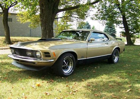 medium gold 1970 mustang paint cross reference