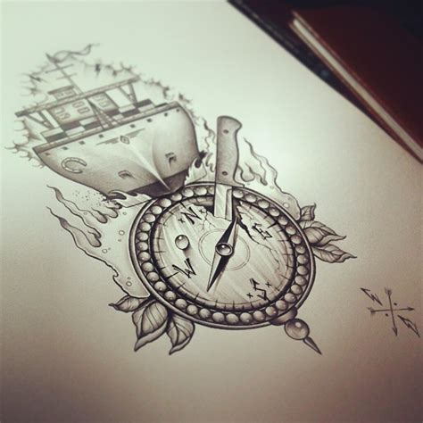 compass tattoo art compass tattoos and designs page 50