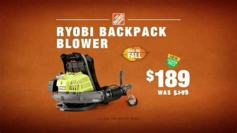 the home depot ryobi backpack blower tv commercial ispot tv