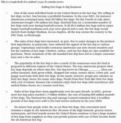 Argumentative Essay Exles 6th Grade by 6th Grade Essay Examples Related