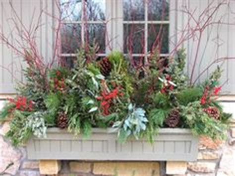 ideas for winter window boxes 1000 images about decorating winter window box on