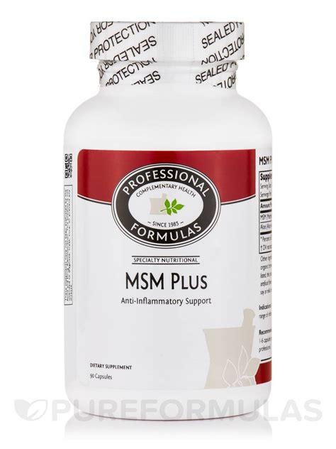 Capsule Plus Capsule msm plus 90 capsules