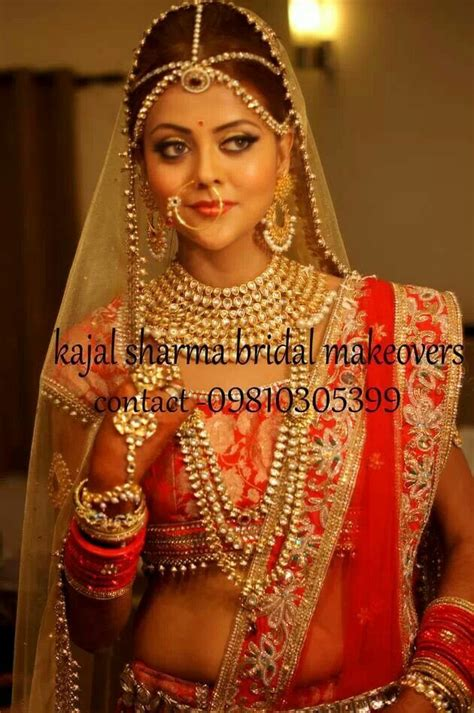 Royal Looks by Royal Indian Bridal Look By Kajal Sharma Indian