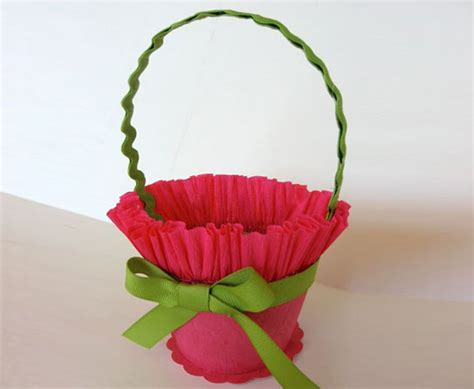 Craft With Crepe Paper - rub colors in homes with crepe paper crafts
