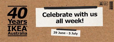 celebrate 40 years of ikea in australia brisbane celebrate 40 years of ikea in australia brisbane