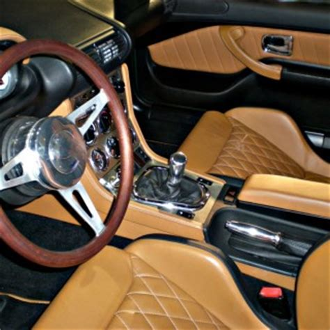 Custom Leather Auto Upholstery by Works Upholstery Garage