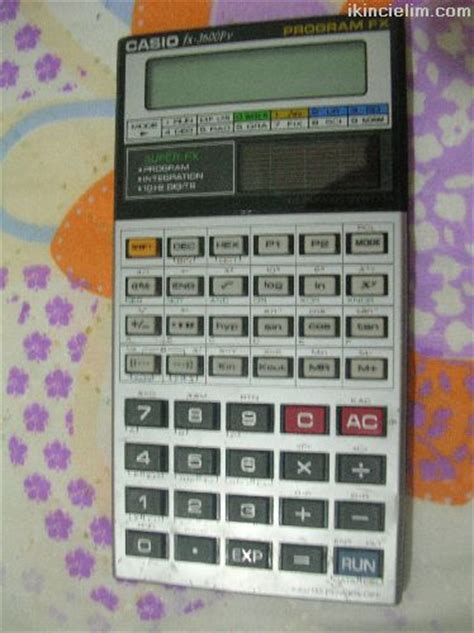 hesap makinesi hesap makinası satılık casio fx 3600pv