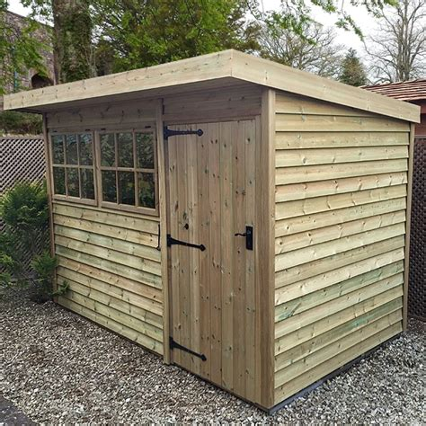 Shed Pent by Malvern Holt Pent Shed