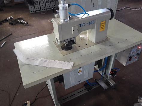 Mesin Jahit Tas jual mesin jahit renda ultrasonik tanpa benang