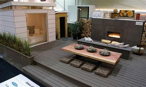 stunning decoration ideas  modern deck design