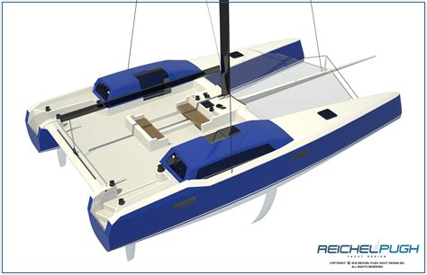 innovative catamaran design reichel pugh yacht design 183 multihull