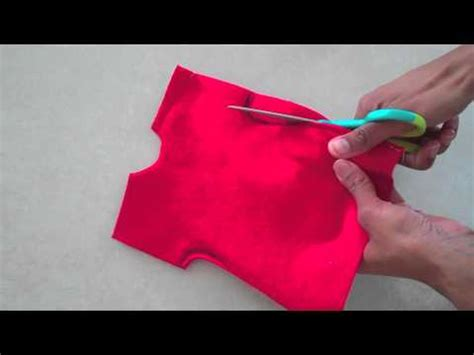 How To Make A Doll Dress Out Of Paper - fabulous felt how to make a doll dress easy
