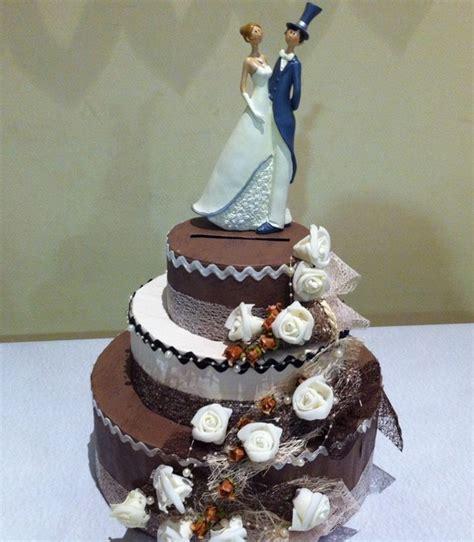 Urne Mariage Gâteau   3   Déco