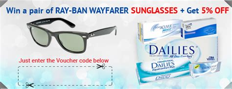 Win A Pair Of Ban Wayfarers Courtesy Of Dj Ronson by Freshlook Dimensions Contact Lenses Contactlensesexpress