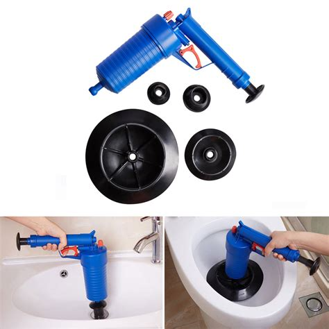 Plunger For Bathtub Drain by Pressure Pipeline Dredge Device Floor Drain Bathtub Plunger Toilet Inflator Sucker Alex Nld