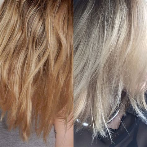 toning hair search results for wella t18 before and after black