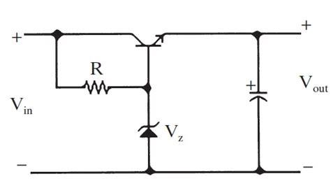 zener diode for high current capacitor explaination of high current zener transistor regulator circuit electrical