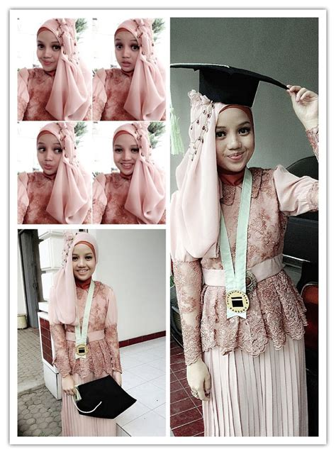tutorial hijab graduation tutorial hijab dua warna untuk kebaya tutorial hijab new
