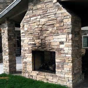sided outdoor fireplace outdoor spaces