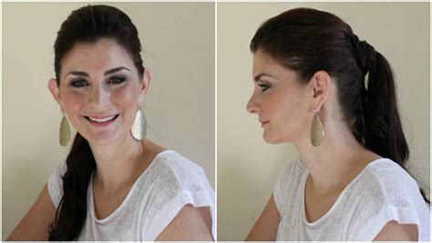 how to wear a ponytail at 40 women in their 40s wearing ponytails 7 creative ways to