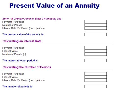 future value excel template annuityf excel template annuity