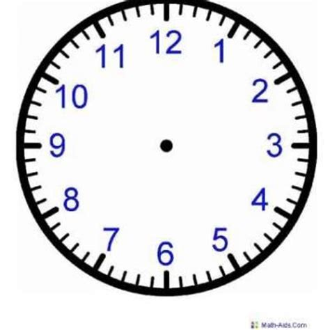 clock template for teaching time 79 best images about clocks telling time on