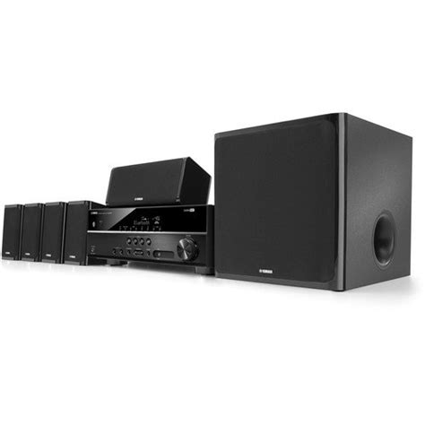 yamaha 5 1 channel 600 watt bluetooth 3d home theater system