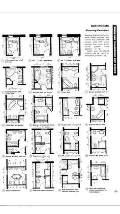 half bath floor plan ideas | 24 square foot half bath with