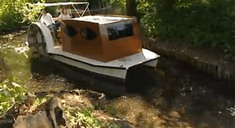 pedal boat german german pedal powered sidewheeler shantyboatliving