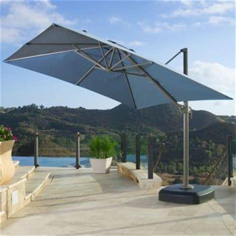 Costco Patio Umbrellas by Costco Portofino 10ft Resort Umbrella In Newport Blue