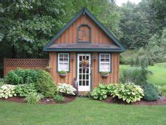 Shady Sheds by Garden Hosta And Other Shady Characters On