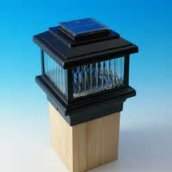 deck post solar lights polaris solar post cap deck light decksdirect
