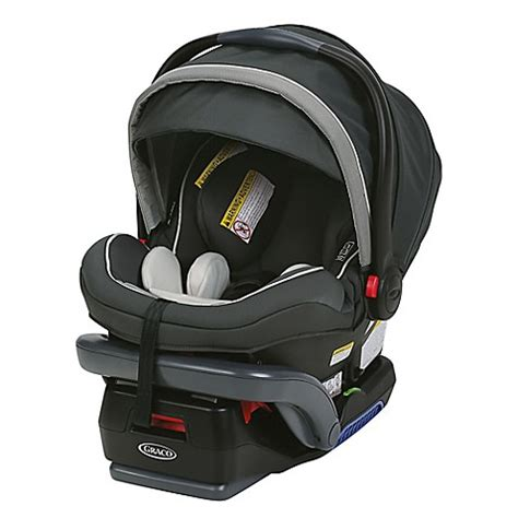 graco blue and gray car seat graco 174 snugride 174 snuglock 35 elite infant car seat in