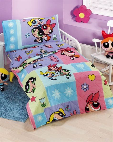 powerpuff girls sweet dreams bedding set toddler size