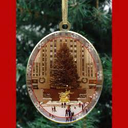 new york christmas trees christmas ornaments gift set